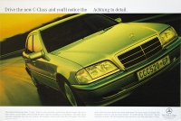 Mercedes-Benz C-Class facelift launch (1997). Photographer: Richard Prior